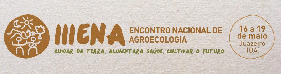 Logo III Encontro Nacional de Agroecologia